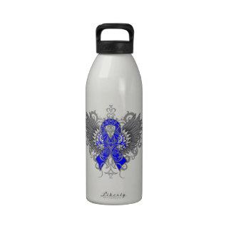 Alas frescas de la artritis reumatoide botella de agua reutilizable