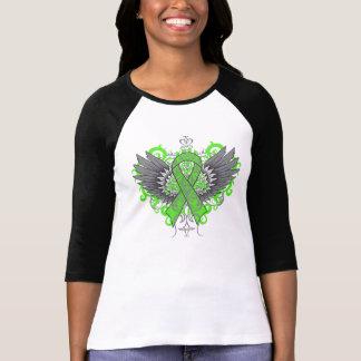 Alas frescas de la conciencia de la salud mental camisas