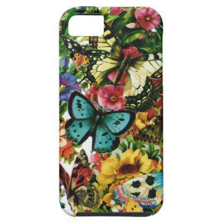 Alas hermosas de la mariposa funda para iPhone SE/5/5s