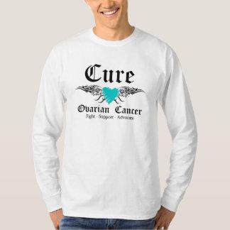 Alas ováricas de CancerTattoo de la curación Camisas