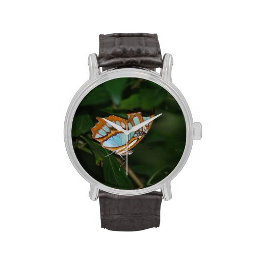 Alas perfectas de la mariposa de Camoflage Relojes De Mano