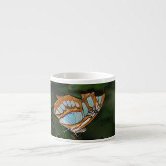 Alas perfectas de la mariposa de Camoflage Tazas Espresso