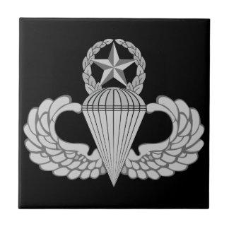 Alas principales del salto/del paracaidista azulejo cuadrado pequeño