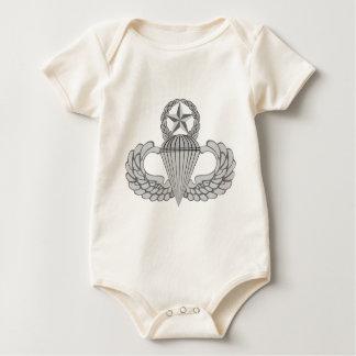 Alas principales del salto/del paracaidista body para bebé