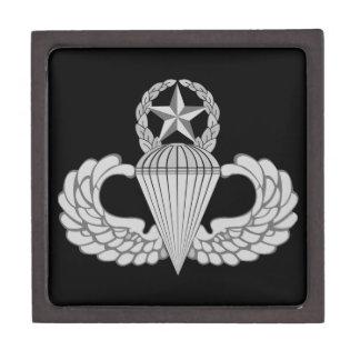 Alas principales del salto/del paracaidista caja de recuerdo de calidad