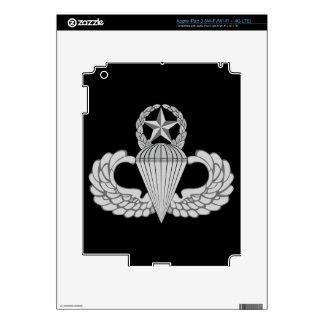 Alas principales del salto/del paracaidista pegatinas skins para iPad 3