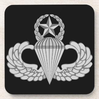Alas principales del salto/del paracaidista posavaso