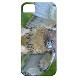 alas Rojo-atadas de la extensión del halcón iPhone 5 Case-Mate Protector