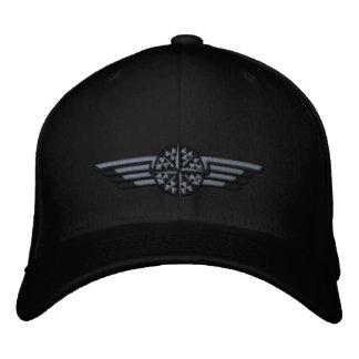 Alas septentrionales del piloto del compás de la gorras bordadas