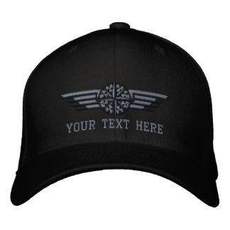 Alas septentrionales personalizadas del piloto del gorra de beisbol bordada