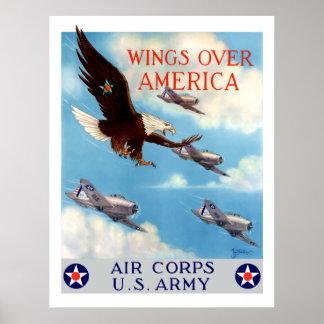 Alas sobre América -- Cuerpo de aire Póster