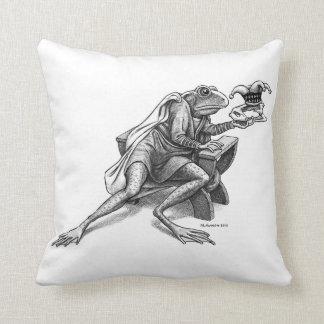 Alas Throw Pillow