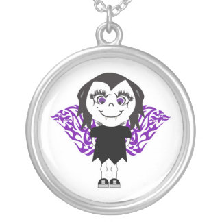 Alas tribales del chica del vampiro grimpolas personalizadas