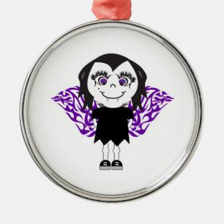 Alas tribales del chica del vampiro ornamente de reyes