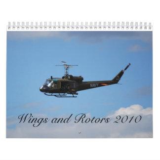 alas y rotores 2010 calendario