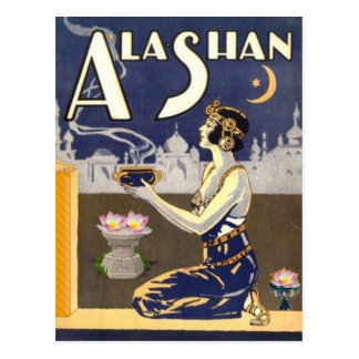 ALASHAN postcard