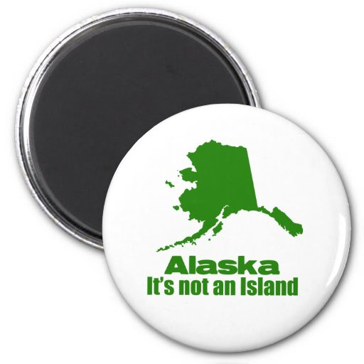 Alaska1 Imán Redondo 5 Cm