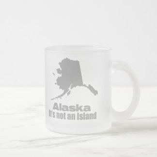 Alaska4 Frosted Glass Coffee Mug