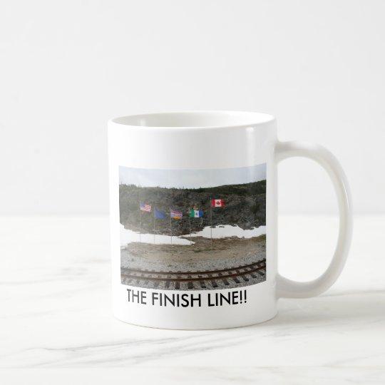 ALASKA 080, THE FINISH LINE!! COFFEE MUG