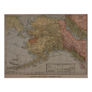 Alaska: 1910 póster