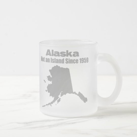 Alaska_1959_4 Frosted Glass Coffee Mug