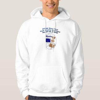 Alaska 2010 Tax Day Tea Party Hooded Sweatshirt