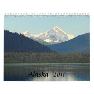 Alaska 2011 calendario de pared