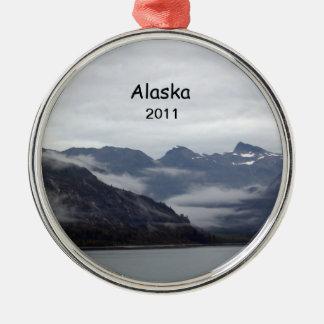 Alaska 2011 metal ornament