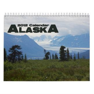 Alaska 2012 wall calendar