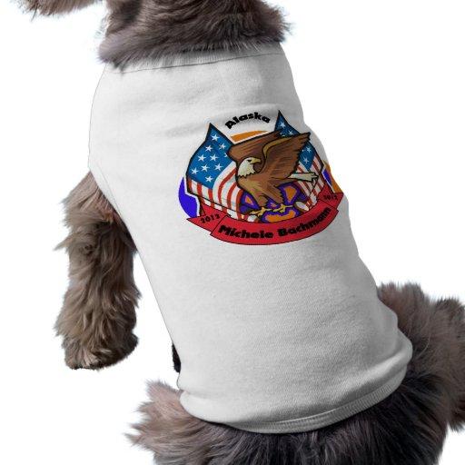 Alaska 2012 para Micaela Bachmann Playera Sin Mangas Para Perro