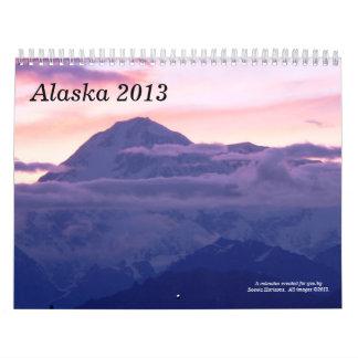 Alaska, 2013 calendario