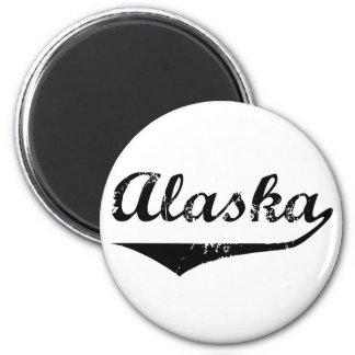 Alaska 2 Inch Round Magnet