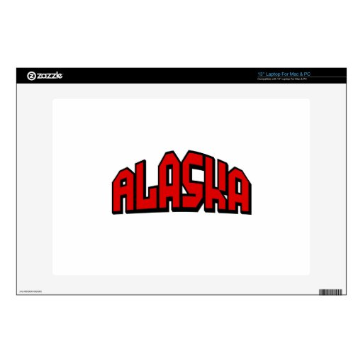 Alaska 33cm Portátil Calcomanía