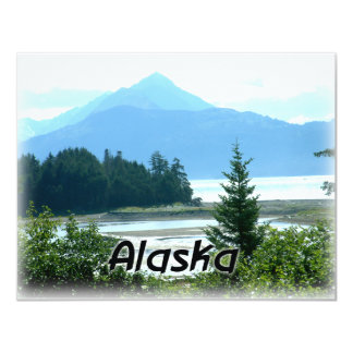 Alaska 4.25x5.5 Paper Invitation Card
