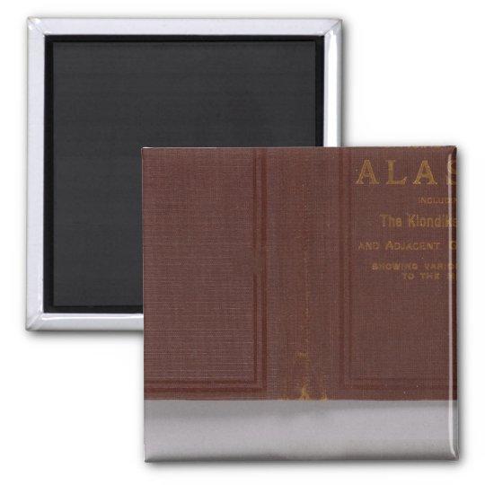 Alaska 4 2 inch square magnet