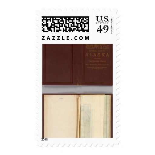 Alaska 4 postage