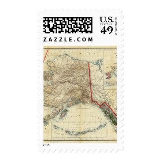 Alaska 5 stamps
