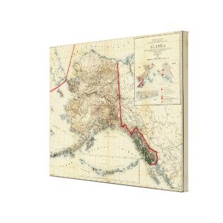 Alaska 7 stretched canvas prints