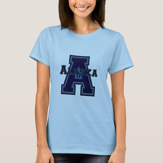 Alaska 'A' Blue T-Shirt