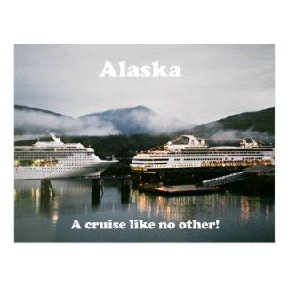 Alaska, a cruise like no other! postcard