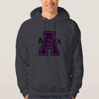 Alaska 'A' Purple Hoodie