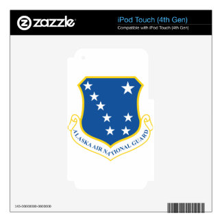 Alaska Air National Guard Skin For iPod Touch 4G