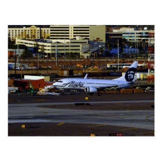 Alaska Airlines Postcard