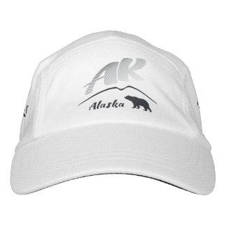 Alaska (AK) Kodiak brown bear - Black Logo Headsweats Hat