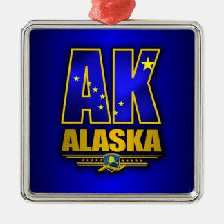 Alaska (AK) Metal Ornament