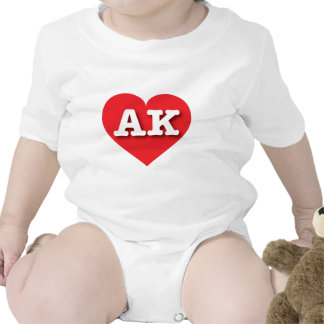 Alaska AK red heart Creeper