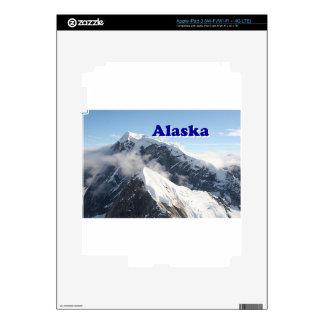 Alaska: Alaska Mountain Range, USA (caption) Skins For iPad 3