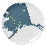 Alaska América Plato De Comida