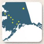 Alaska América Posavasos De Bebida