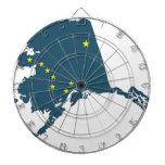 Alaska América Tabla Dardos